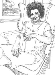 Coloring Pages Of Famous Women - Coloring Home