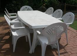 outdoor plastic table and chairs off 71