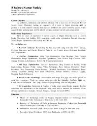 Best College Resume Simple Digital Marketing Resume R Mobile 48gmailcom Person Carvisco
