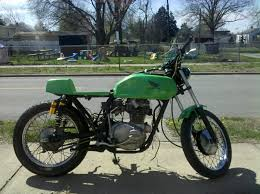 78 cb400tii lucy new pipes these tanks look real good knee dents heres one i did this winter