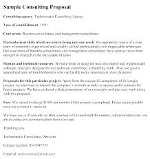 It Consulting Services Proposal Template Free Free