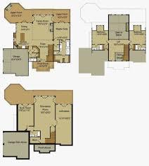craftsman ranch house plans with walkout basement unique rustic mountain house floor plan with walkout basement