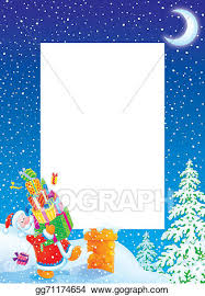 christmas santa borders and frames. Plain Christmas Christmas Frame  Border With Santa On Borders And Frames S