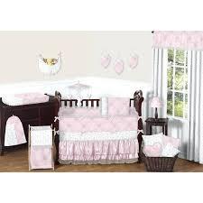 infant bedding sets crib chevron piece set