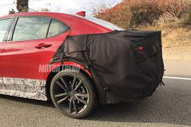 2018 acura grill. delighful grill 2018 acura tlx prototype rear three quarter throughout acura grill