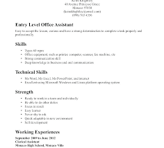 Text Resume Format Wonderful Resume Format For Administration Officer Fresher Rmat Admin Sample
