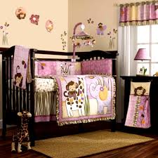 cute modern baby girl room purple with colorful wall paint nursery lovely wooden flooring rug baby nursery girl nursery ideas modern