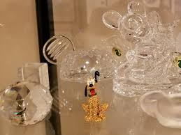 here is jeweled pluto at my house with some of his disney crystal friends photo by gregg jacobs