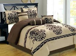black and taupe bedding black and white damask king bedding designs valuable cal king luxury bedding