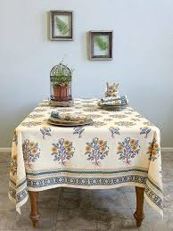 french country tablecloth wild poppies french country orange yellow botanical tablecloth saffron marigold french country 90 french country tablecloth