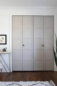 how to install bifold closet doors. Paneled BiFold Closet Door DIY Room For Tuesday Bifold Knobs In .. How To Install Bifold Closet Doors