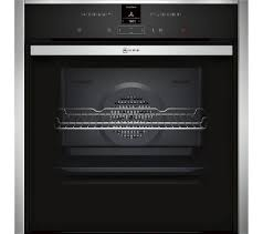 neff b47cr32n0b slide and hide electric oven stainless steel