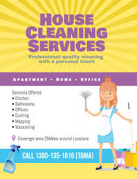 House Cleaning Services Flyers Copy Of House Cleaning Services Flyer Poster Template