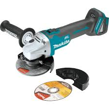 cordless grinder. makita xag03z 18v lxt lithium-ion brushless cordless cut-off/angle grinder, 4-1/2-inch - amazon.com grinder
