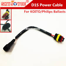 online buy whole wiring harness plugs from wiring 2x12v koito ballast d1 hid power cable wire harness plug adapter d1s d1c d1r canbus ballasts