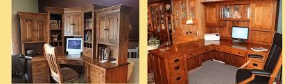 custom built office furniture. Brilliant Furniture Custom Built Home Office Furniture Amish And Accents  Best Ideas With I