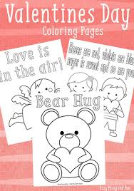 Although, valentine may seem an odd subject for kid's coloring pages as it is mainly celebrated by happy valentines day coloring pages. 3 Sweet Valentines Day Coloring Pages Easy Peasy And Fun