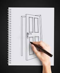 Half open door drawing Woman Reading Book Drawing Door Pezcamecom Drawing Door 646x720 New 50 Open Door Drawing Inspiration Design