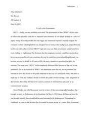 sonnet fcas focused thesis statement sufficient  11 pages war of the worlds research paper