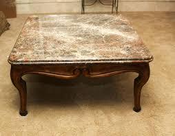 henredon coffee table vintage marble top table henredon natchez coffee table
