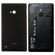 Back Cover for Nokia Lumia 720 (Black)
