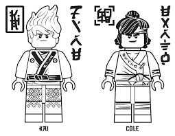 Lego Ninjago Coloring Page Coloring Pages Free Printable Lego