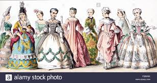 french women th century stock photos french women th century  the figures illustrated here represent french ladies of rank upper class women between 1700