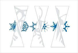 Paper Snowflake Template Free Printable Word Format Free