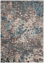 gray and blue area rug new bungalow rose crosier grey light blue area rug reviews