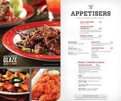 tgi friday s menu