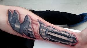 татуировка биомеханика тату на руке татуировки гомель