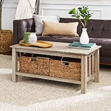 Coffee Tables - Brown / Coffee Tables / Tables: Home ... - Amazon.com