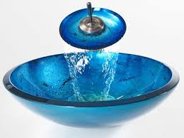 size 1280x960 blue bathrooms with glass vessel sink images blue glass bathroom accessories