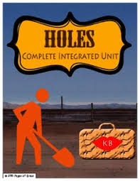 holes novel study plete integrated unit from pages of grace on teachersnotebook