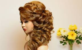 Wedding Hair Style Picture prom hairstyle for long hair tutorial youtube 7173 by wearticles.com