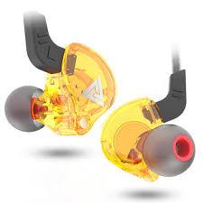 QKZ AK6 106dB 1.2m High Fidelity Wire <b>Earphones Universal 3.5</b> ...