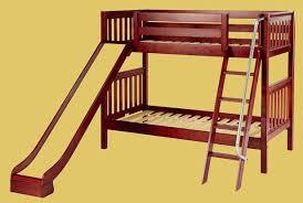 double bunk bed with slide casanovaInterior