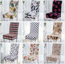 chair covers for home. Floral Printing Chair Cover Home Dining Multifunctional Spandex Removable Elastic Slipcovers Seat Covers 27 Styles Ooa3463 Tablecloth And For