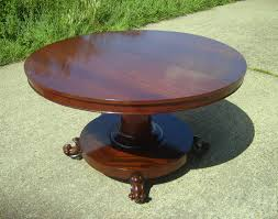 antique dining table uk. antique round extending table - william iv mahogany pedestal dining to seat 8 people uk