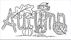 fall coloring pages printable.  Fall Interior Fall Coloring Page Kindergarten Pages Latest Printable Qualified  12 With N