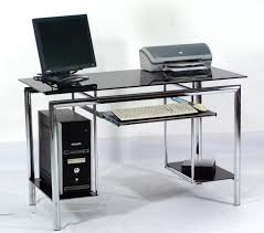 santorini l shaped computer desk large glass desks home and garden decor uncluttered a within instructions
