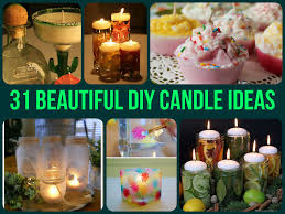 31 Beautiful DIY Candle Ideas =With these fantastic tutorials you can  create a relaxed ambiance