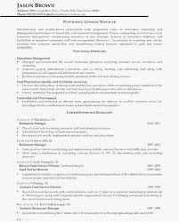 General Manager Restaurant Resume Example General Manager Resume Stunning Restaurant General Manager Resume