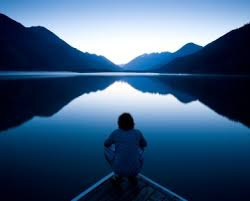 Image result for be still looking out at water