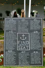Seating Chart In Alphabetical Order Invitations More Photos Large Nautical Chalkboard