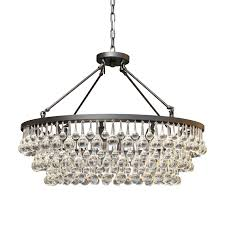 Celeste Glass Crystal Black Chandelier - Free Shipping Today -  Overstock.com - 16706891