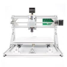 3 axis mini diy cnc 2418 router kit pcb milling engraving machine 2500mw laser