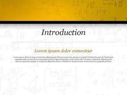 Education Background For Powerpoint Math Education Background Powerpoint Template Backgrounds 14873