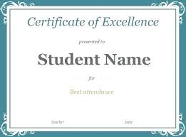 Free Award Certificate Templates For Students Certificate Award Template Award Certificate Template Free Download
