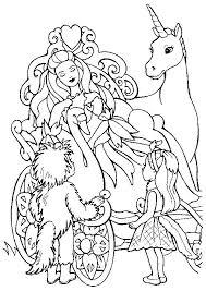 Eenhoorn Kleurplaat Coloring Pages Princess Coloring Pages